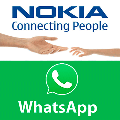 whatsapp nokia logo