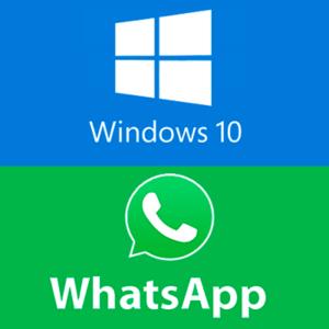 whatsapp windows 10 logo