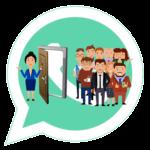 Как добавить человека в группу в WhatsApp?