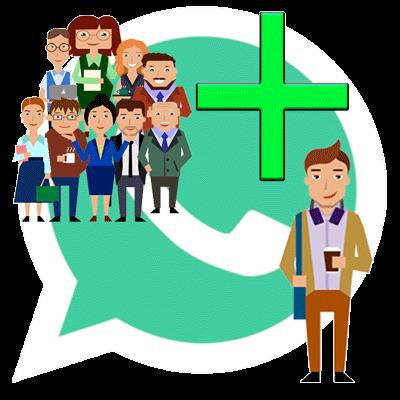 Whatsapp добавить в группу человека фото