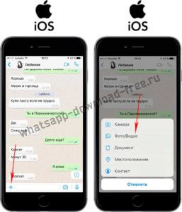 Как отправить фото в whatsapp на Iphone