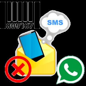 Не приходит SMS с кодом в WhatsApp лого