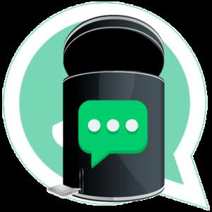 WhatsApp удалить чат лого