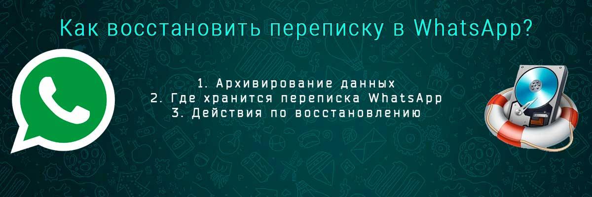 Восстановление переписки в WhatsApp head