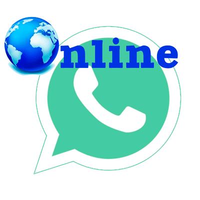 WhatsApp online logo