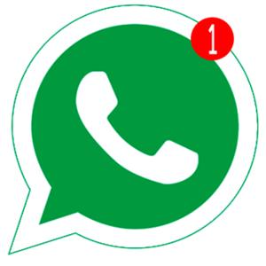 Уведомления в Whatsapp не приходят иконка
