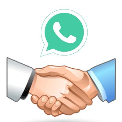 Знакомства в WhatsApp logo