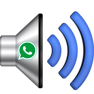 Звук в WhatsApp иконка