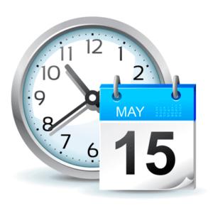 Настройки даты и времени иконка