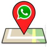 Делиться Геоданными в WhatsApp.