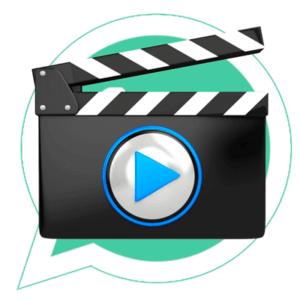 Отправить видео в WhatsApp иконка