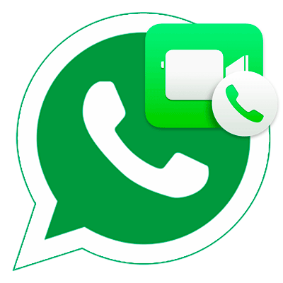 Видеовызвов в WhatsApp иконка