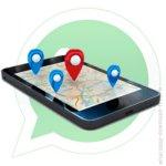 Геолокация WhatsApp. Местоположение в WhatsApp.