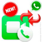 Переключаться между аудио- и видеозвонками в WhatsApp.